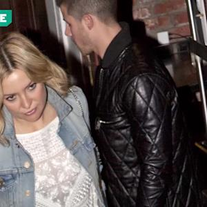 EXCLUSIVE: It's On! Kate Hudson and Nick Jonas Step Out for Romantic Dinner -- See the Pics!