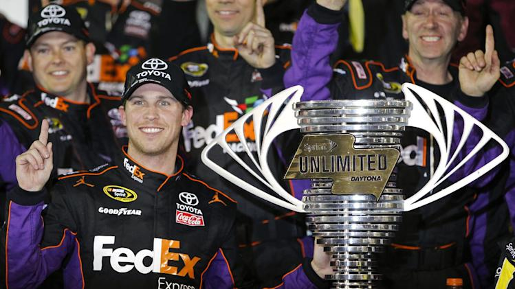 Hamlin wins exhibition Sprint Unlimited at Daytona