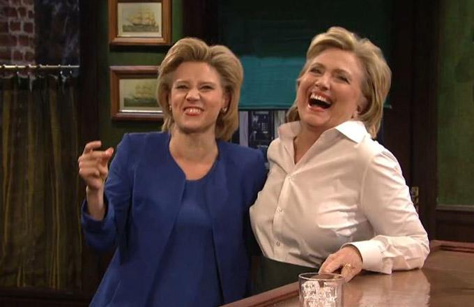 Hillary Clinton Takes a Jab at Donald Trump and Admits Delayed Support of Gay Marriage in 'SNL' Appearance