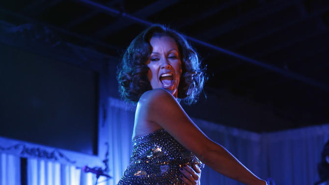 """Vanessa Williams performs at the """"Better With M"""" Kick-Off Event on Thursday, Jan. 31, 2013 in New Orleans. (Jonathan Bachman / AP Images for Mars Chocolate North America)"""