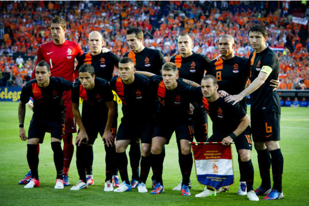 Netherlands National Soccer Team Players AFP/Getty Images