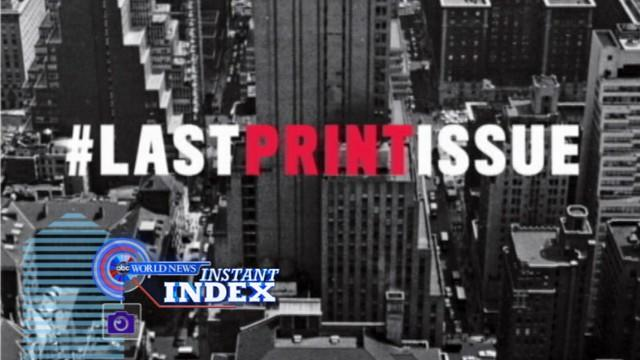 Instant Index: Newsweek's Final Print, Tracking Santa's Journey