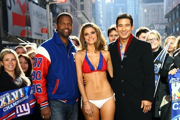 Calloway, Menounos and Lopez (Getty)