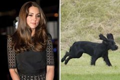 Kate Middleton and Luppo
