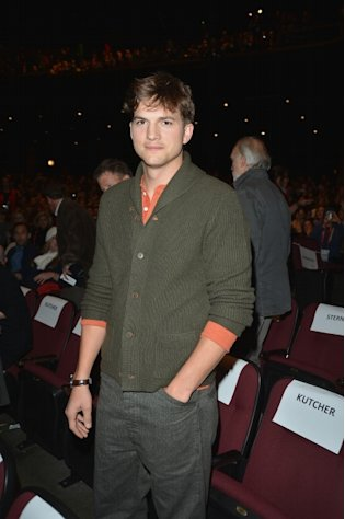 Ashton Kutcher attends the &#39;jOBS&#39; Premiere during the 2013 Sundance Film Festival at Eccles Center Theatre on January 25, 2013 in Park City, Utah