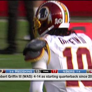 Will Washington Redskins quarterback RGIII be benched?