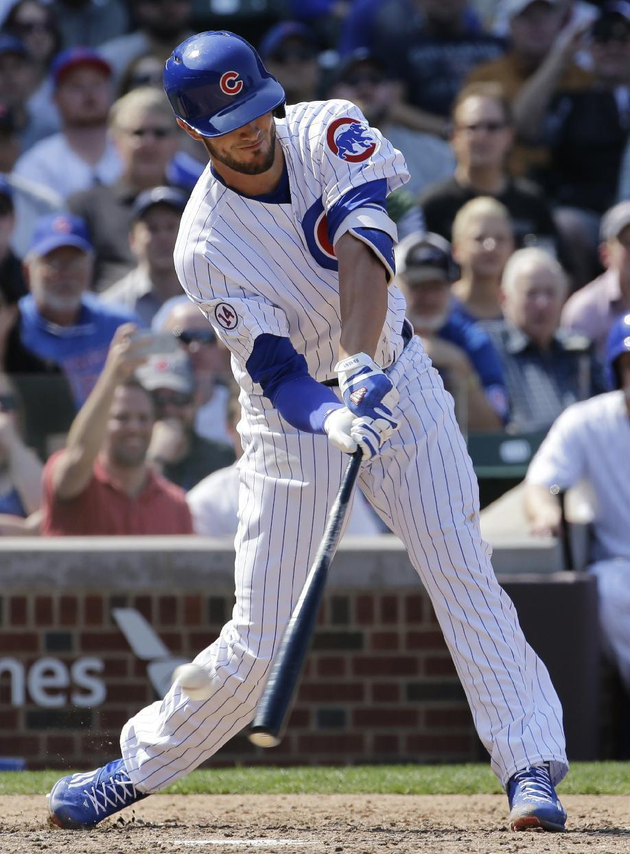 Bryant 0 for 4 with 3 Ks in debut as Cubs lose to Padres 5-4