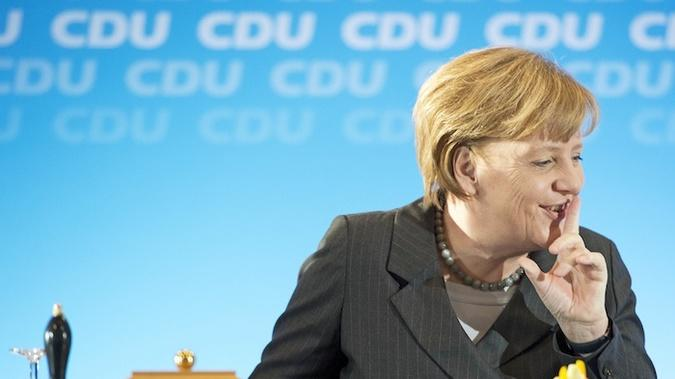 Angela Merkel Is Not Happy About the State Department Official's F-Bomb
