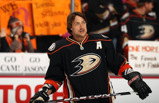 Selanne the New Chelios