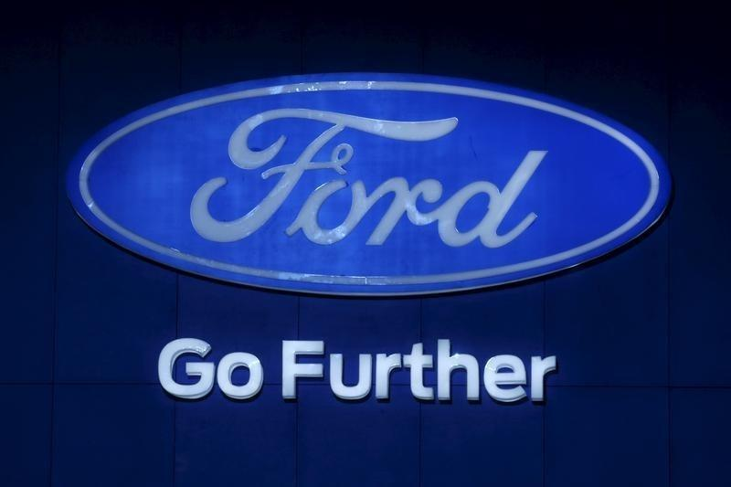 Truck sales drive record results at Ford; shares up