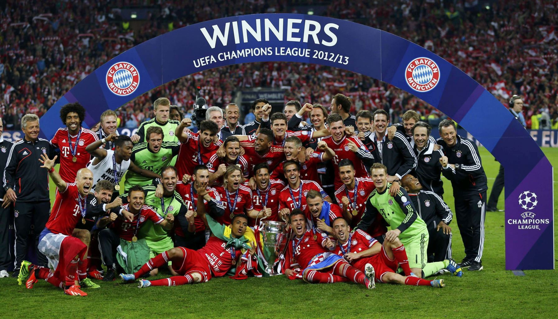Champions League Winners