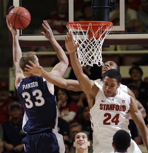 Stanford beats Nevada 84-56 in NIT quarterfinals