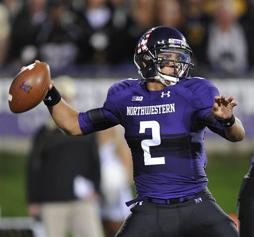 Mark leads Northwestern past Vanderbilt 23-13
