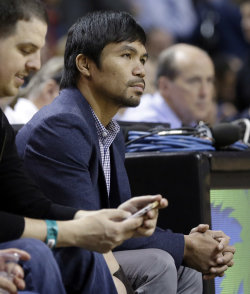 Manny Pacquiao has repeatedly said he wants to fight Mayweather. (AP)