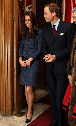 Rebecca Taylor Re-Release Kate Middleton's Navy Blue Suit - AND GO!