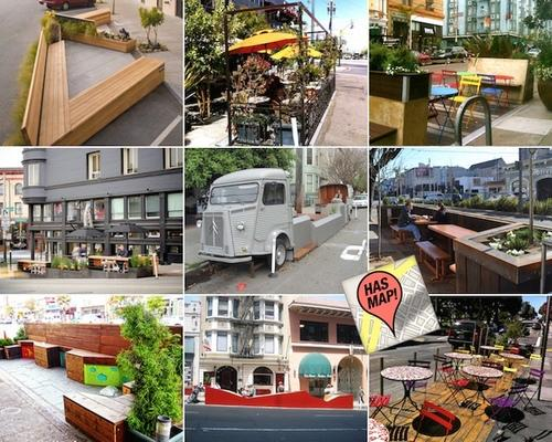 Curbed Maps: Mapping All 51 Awesome San Francisco Public Parklets
