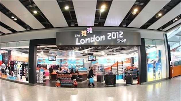 London 2012 shop - image courtesy of London2012.com
