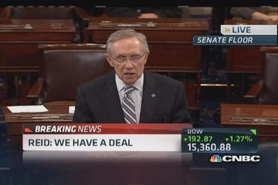 Reid: 'This is a time of reconciliation'