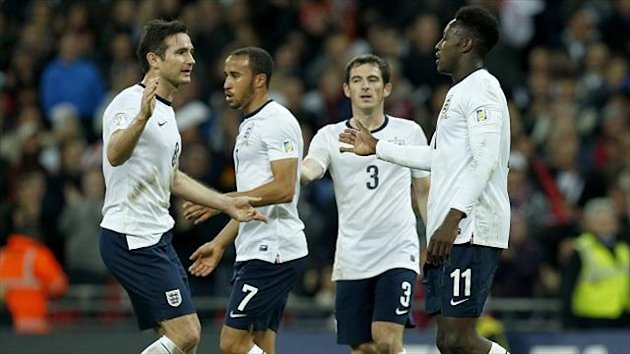 A Wembley showdown against Denmark in March beckons for England