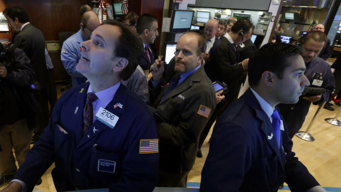 Worries of a Fed pullback sends stocks lower