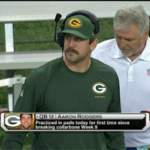 Green Bay Packers QB Aaron Rodgers not likely to start Week 14