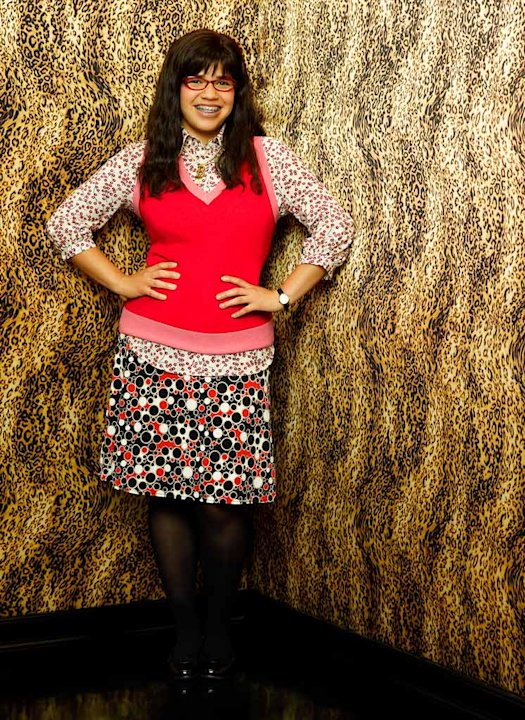 America Ferrera stars as Betty Suarez in Ugly Betty. 