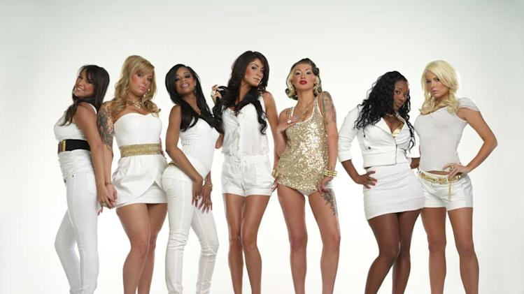 "The cast of  ""Bad Girls Club."""