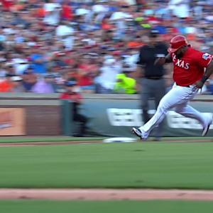 Moreland's two-run double