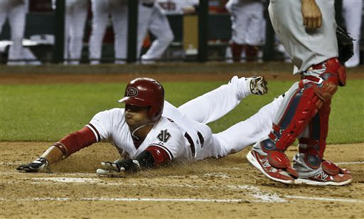 Kennedy, D-backs beat Wainwright, Cardinals 6-2