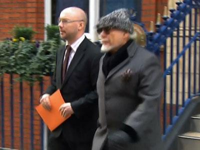 Raw: Gary Glitter arrested in abuse scandal