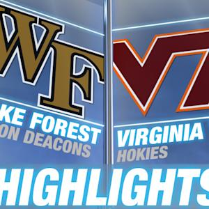Wake Forest vs Virginia Tech | 2014-15 ACC Women's Basketball Highlights