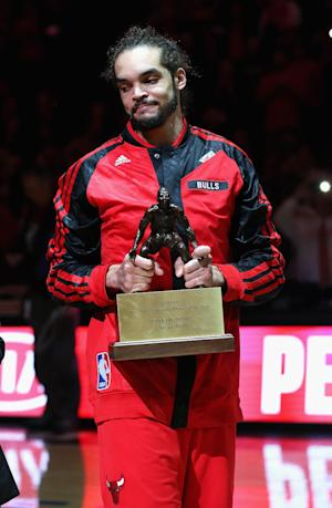 Bulls' Noah headlines NBA's all-defensive team