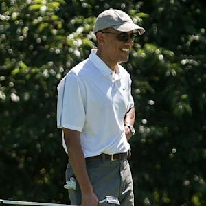 OBAMA'S BREAK FROM VACATION