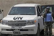 UN mission suspends activities in Syria