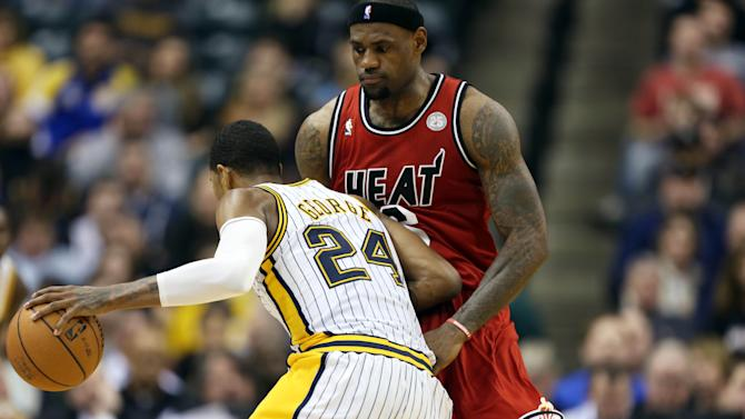 NBA: Miami Heat at Indiana Pacers