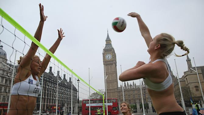 Team GB Female Beach Volleyball Players Launch Road Safety Initiative