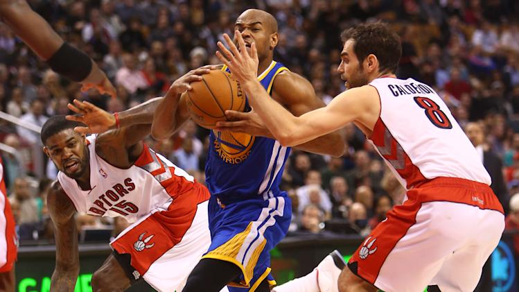 NBA: Golden State Warriors at Toronto Raptors