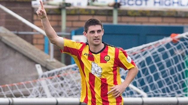 Kris Doolan bagged a brace to secure victory for Partick Thistle