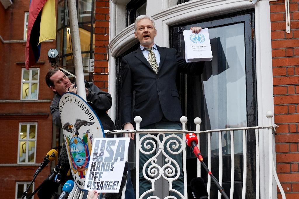 Press takes swipe at Assange and UN panel