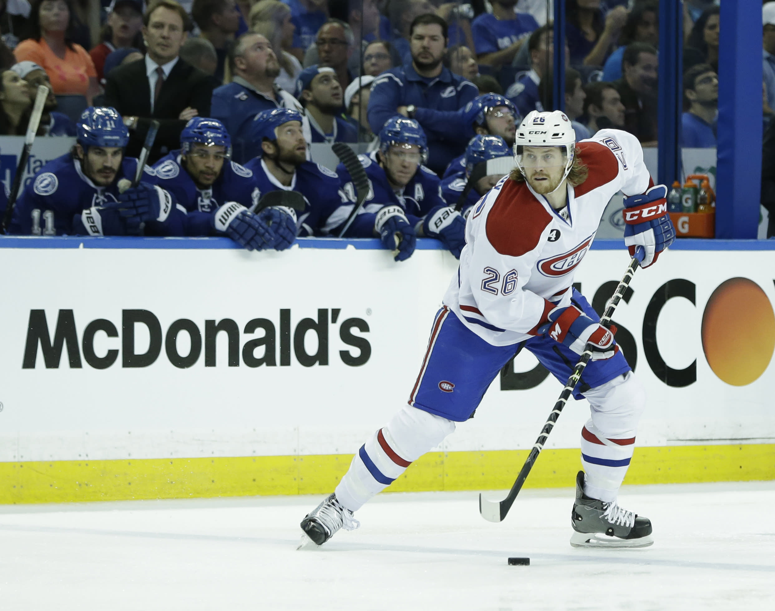 Montreal Canadiens re-sign Jeff Petry for six years at $33 million