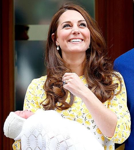Kate Middleton's Birth Details: Royal Baby Delivered With No Epidural