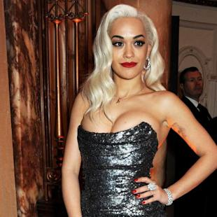 Rita Ora attends the British Fashion Awards 2013 drinks reception at the London Coliseum on December 2, 2013 in London -- Getty Images