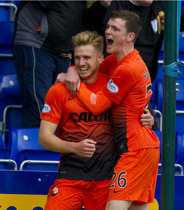Soccer - Scottish Premiership - Ross County v Dundee United - Global Energy Stadium