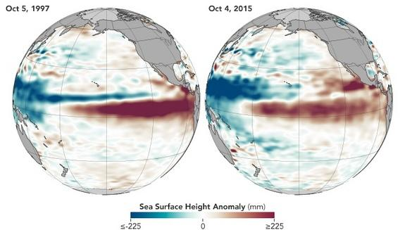 Wet (But Warm) Winter: Strong El Niño to Usher in Lots of Rain