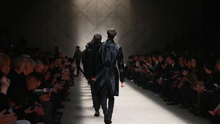 Burberry Prorsum - Runway - Milan Fashion Week Menswear Autumn/Winter 2013