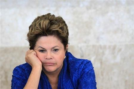 Brazil President Rousseff's popularity falls for first time - poll - Yahoo! News UK