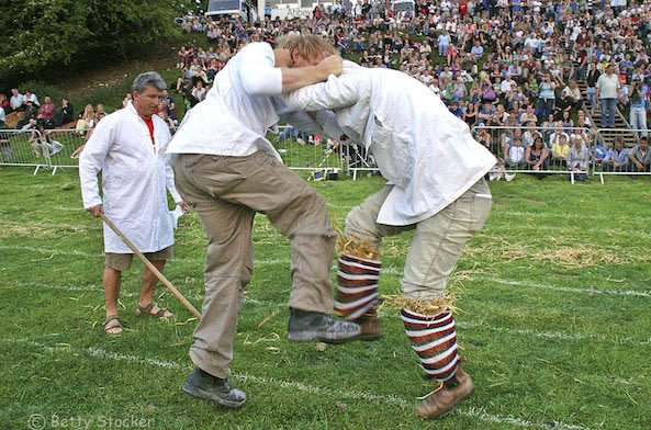 Cotswold Olimpicks shin kicking