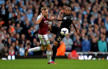 Soccer - Barclays Premier League - West Ham United v Manchester City - Upton Park