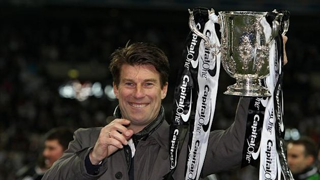 Michael Laudrup, pictured, has been urged to stay at Swansea by Michu
