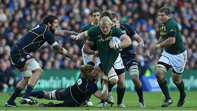 Rugby - Springboks call up uncapped Kirsten for France
